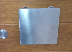 contemporary square pull handle