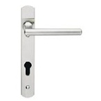 contemporary door euro handles swnp120