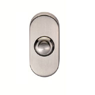 contemporary door oval bell push