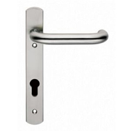contemporary door euro handles swnp11