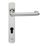 contemporary door euro handles swnp140