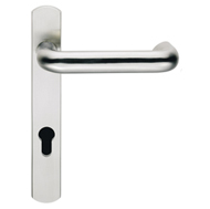 contemporary door euro handles swnp41