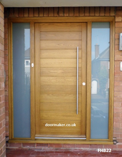 Contemporary door aria 221 1 for Modern exterior doors