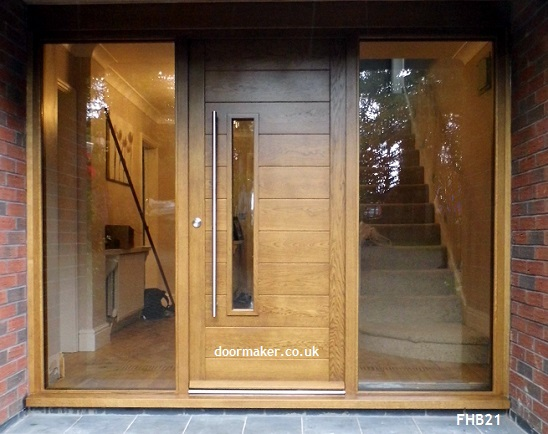 Contemporary Front Doors Oak Iroko And Other Woods