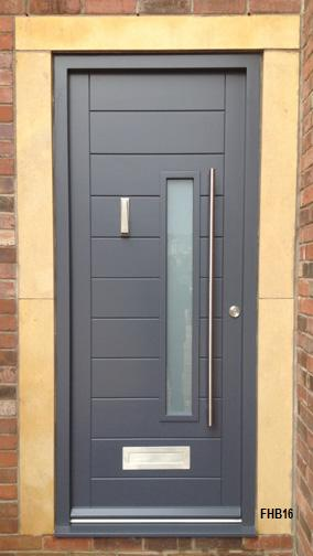Merveilleux Contemporary Front Door Grey