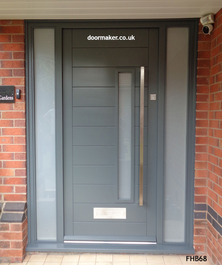 Contemporary Front Doors, oak iroko and other woods, Bespoke Doors on