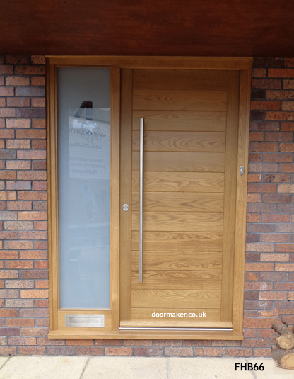 Contemporary Front Doors With Sidelights Model 026