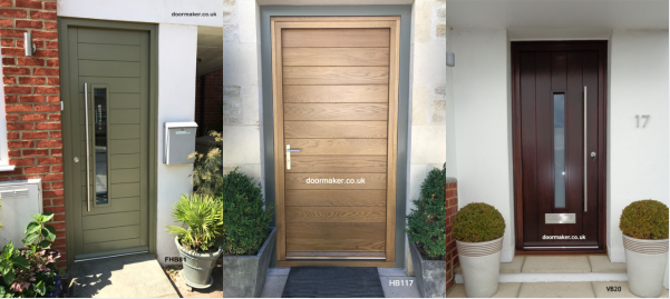 Contemporary Front Doors Contemporary Doors Contemporary Style Doors Contemporary Entrance Doors Oak Iroko And Other Woods London Cheshire All Uk Delivery