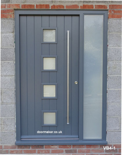 basalt grey contemporary door