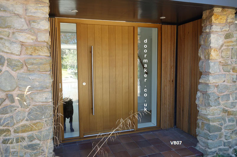 Tremendous Contemporary Front Doors Oak Iroko And Other Woods Bespoke Doors Largest Home Design Picture Inspirations Pitcheantrous