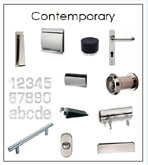 contemporary door furniture