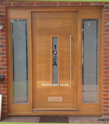 contemporary door clear border detail