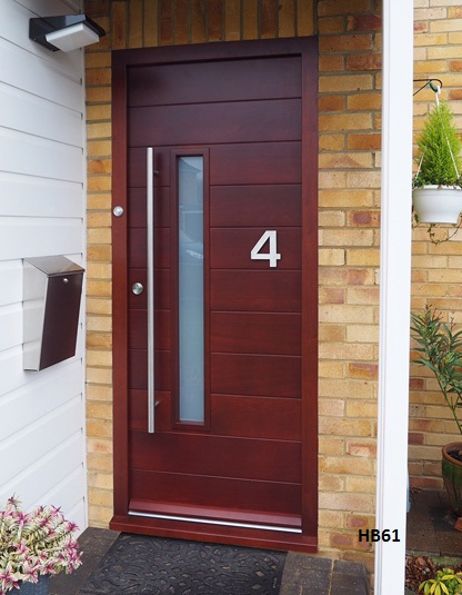 sapele contemporary door