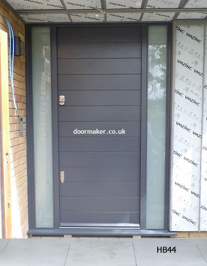 grey contemporary door banham locks