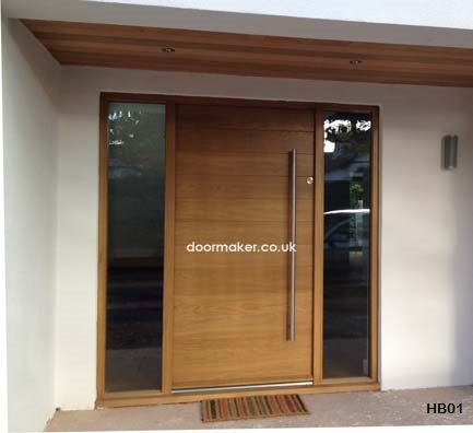 contemporar y door clear double glazed units