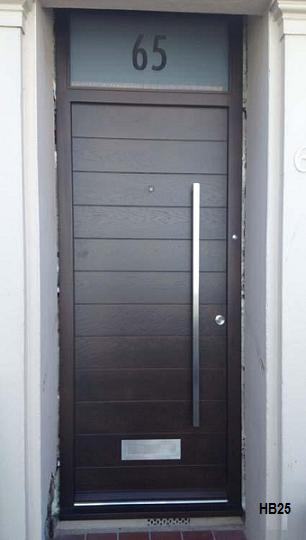 dark oak contemporary door
