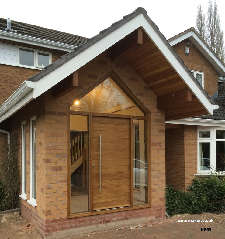 Oak Front Door : Contemporary front doors oak iroko and other woods