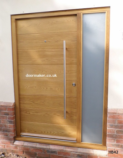 contemporary oak door doormaker